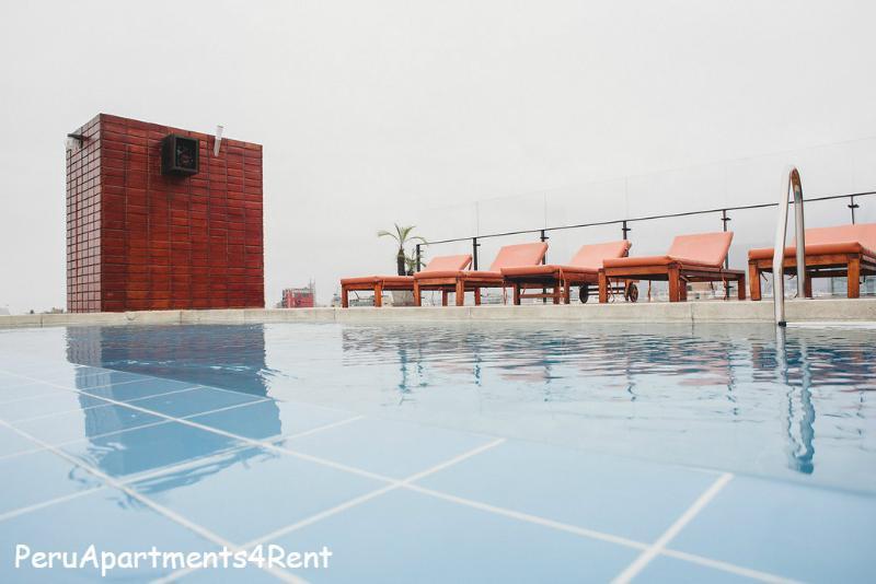 PERU APARTMENTS RENT NEXT LARCOMAR POOL GYM (Lima, Perú