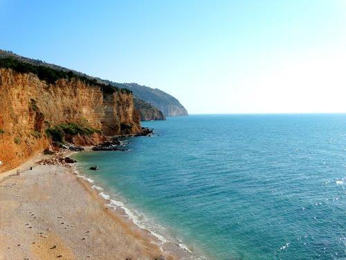 spiaggia Punta Rossa (la più vicina)