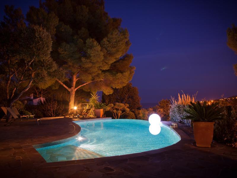 Villa La Crespina - Piscine de nuit