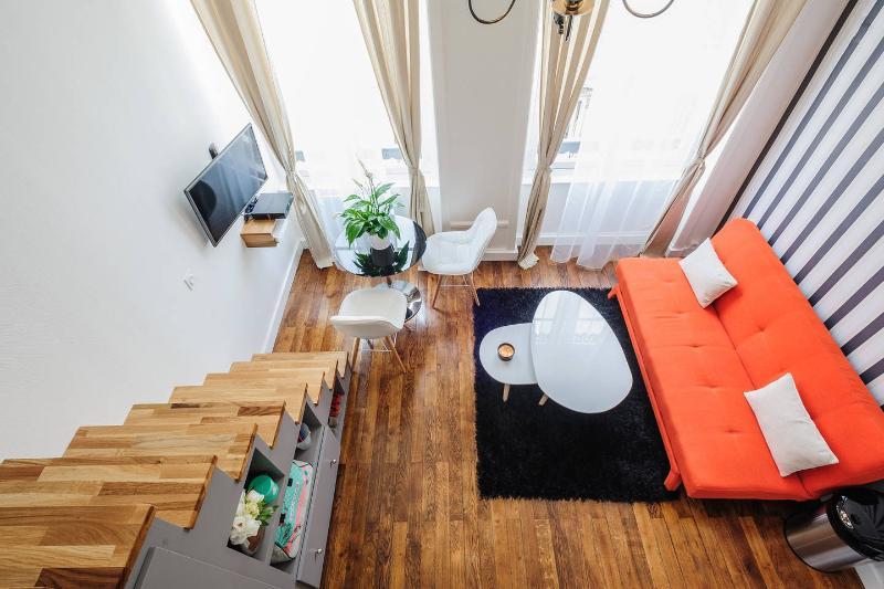 Studio design Part-Dieu - Tête d'Or, holiday rental in Rillieux-la-Pape