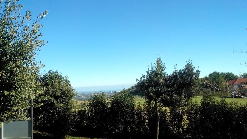 view towards the south-east. All0rizzonte the Adriatic coast.