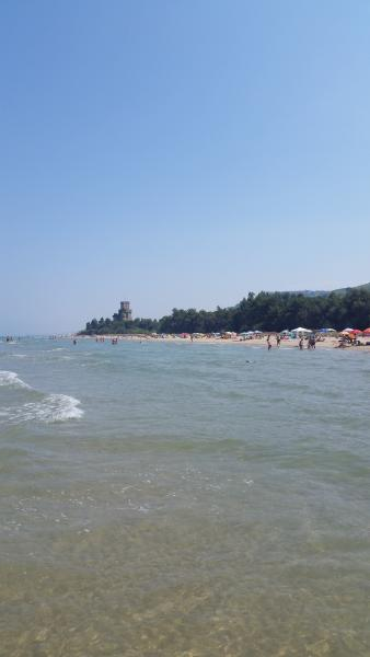 Cerrano beach, 25 minutes