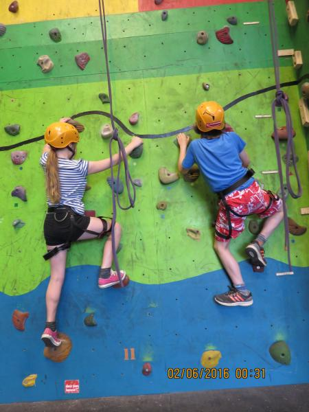 Our climbing wall is available for hire from July 2016. Pre booking preferable. Competative pricing.