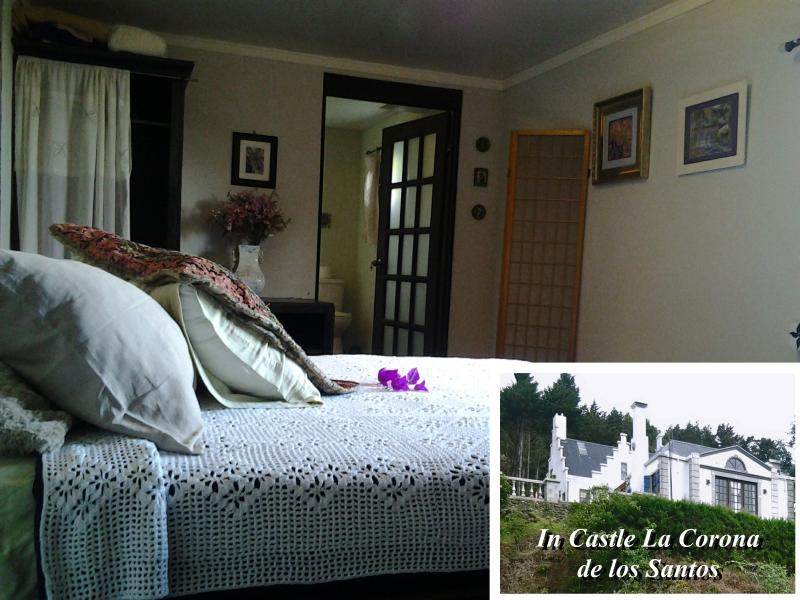 The Sapphire Room at Castle La Corona de los Santos, Costa Rica