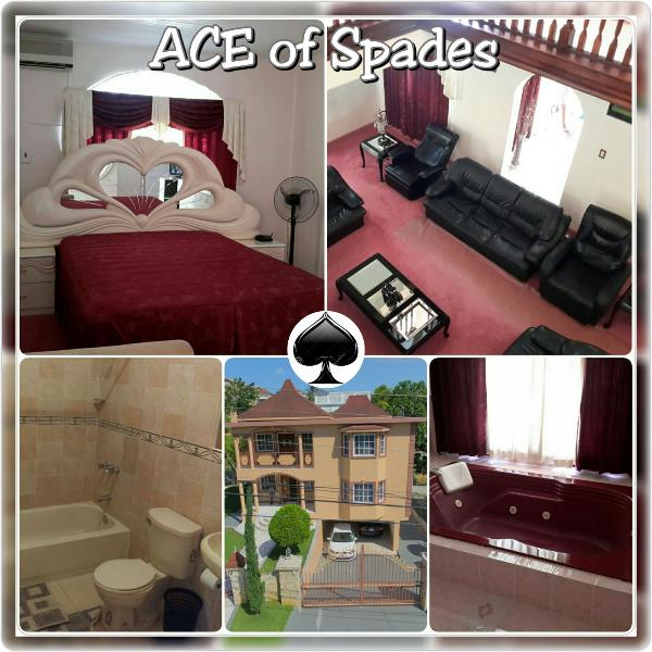 ACE of Spade is an elegantly furnished 1 Bedroom / 1Bathroom PRIVATE ROOM / UNCLE HUGO.  The A/C wil