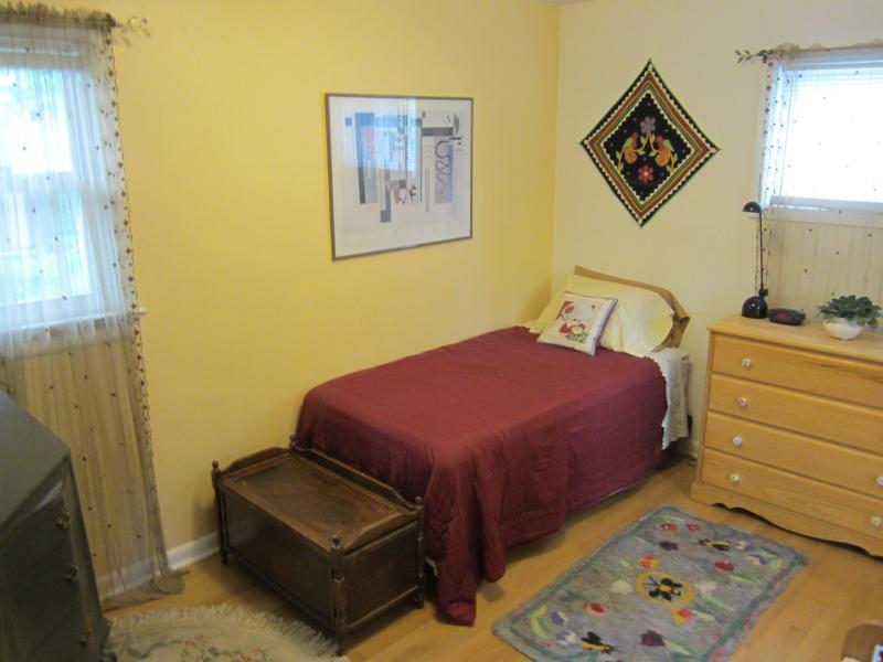 Second bedroom, upstairs