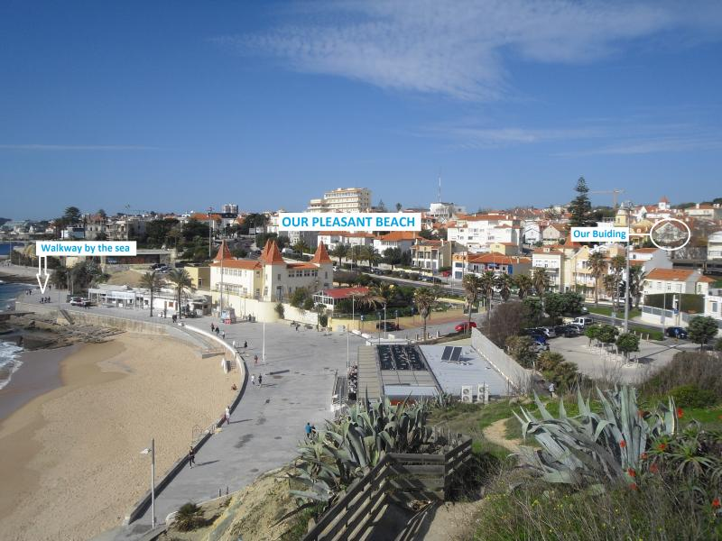 1 - In the centre of Estoril, 200 m away from the sea (Winter view)