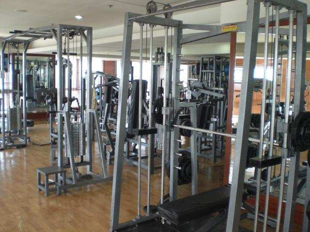 Professional Fitness Center Fully Equipped