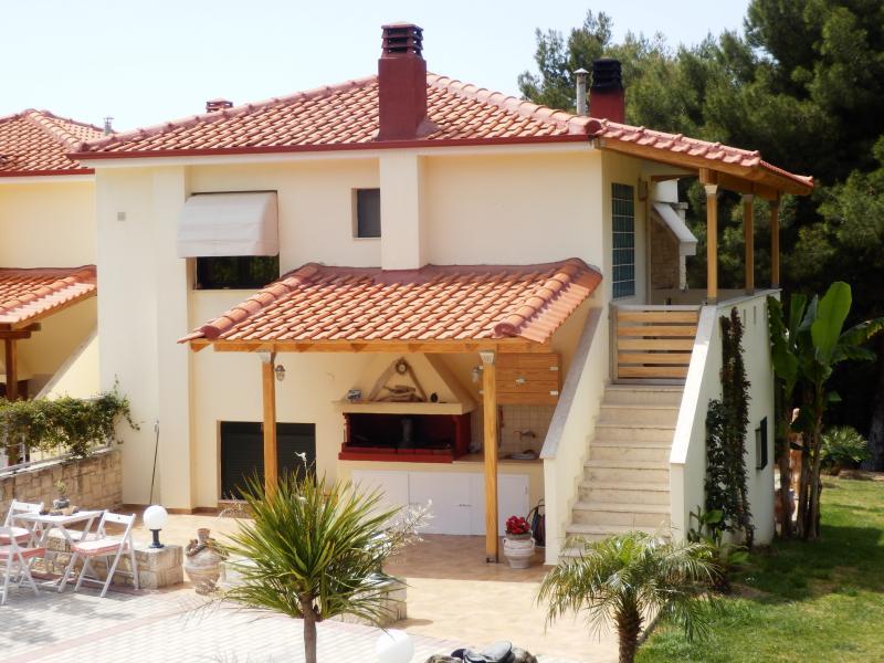 Ferienhaus Possidi, holiday rental in Fourka