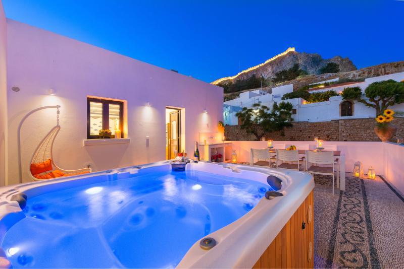 Lindos Diamond Exclusive Villa, location de vacances à Lindos