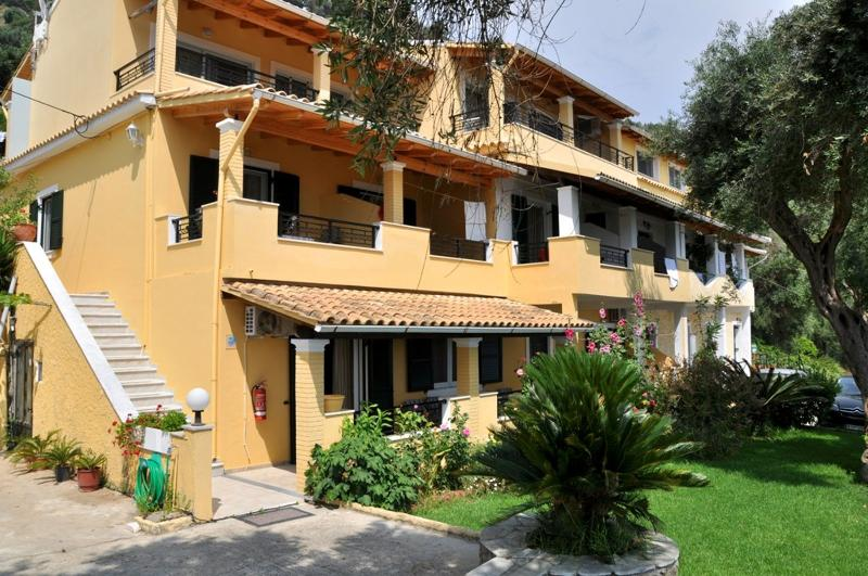 Self catering Apartment with sea view at Lidovois House in Pelekas Beach,Corfu., holiday rental in Pelekas