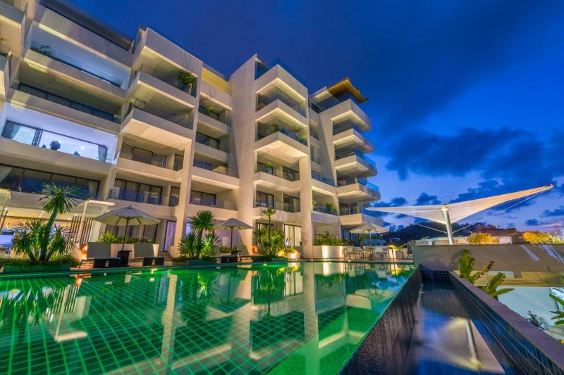 4 Bedroom luxury Sea View private pool penthouse, holiday rental in Bang Tao Beach