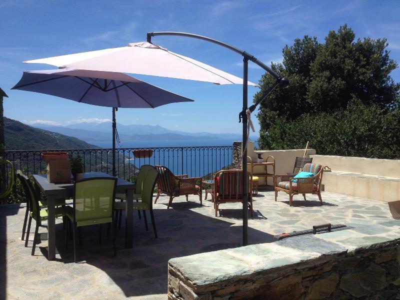 Cap Corse- de 4 à 8 personnes, holiday rental in Ogliastro