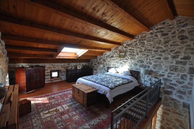 Master bedroom on top floor