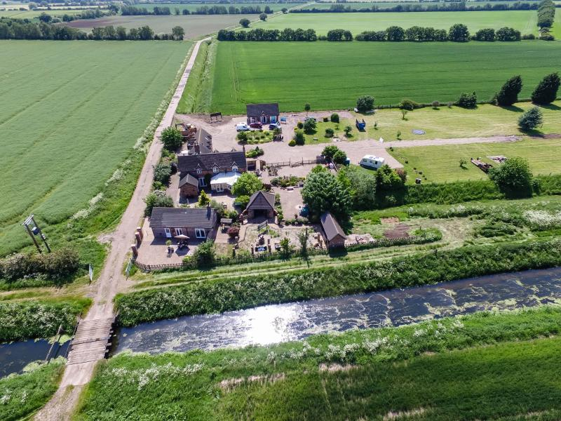 One of the aerial views of Lincoln Retreat