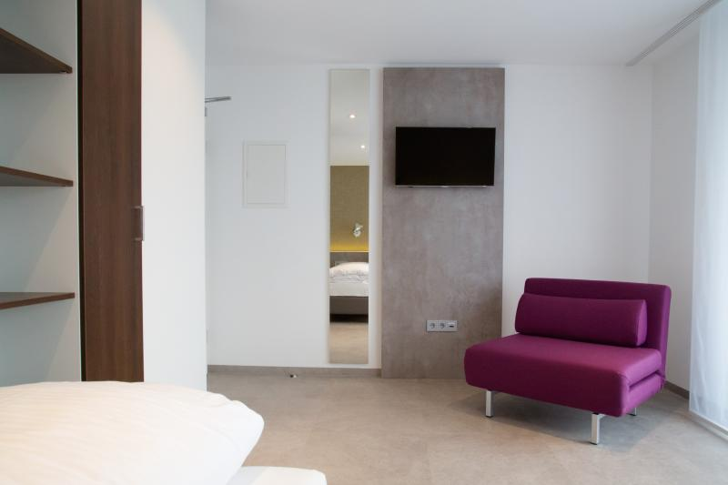 Apartment Typ C mit Balkon/Terrasse Aalen, alquiler vacacional en Oberkochen