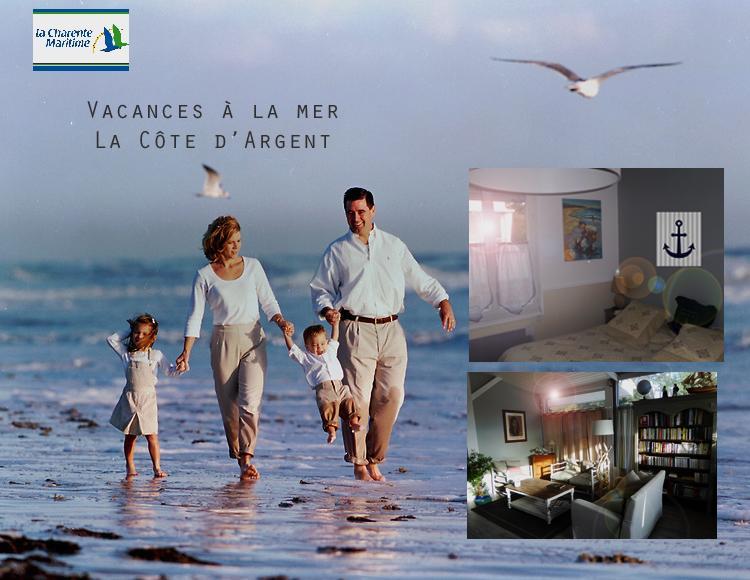LA COTE D'ARGENT · Maison exclusive bord de mer 10/15 personnes 7ch., vacation rental in La Tremblade