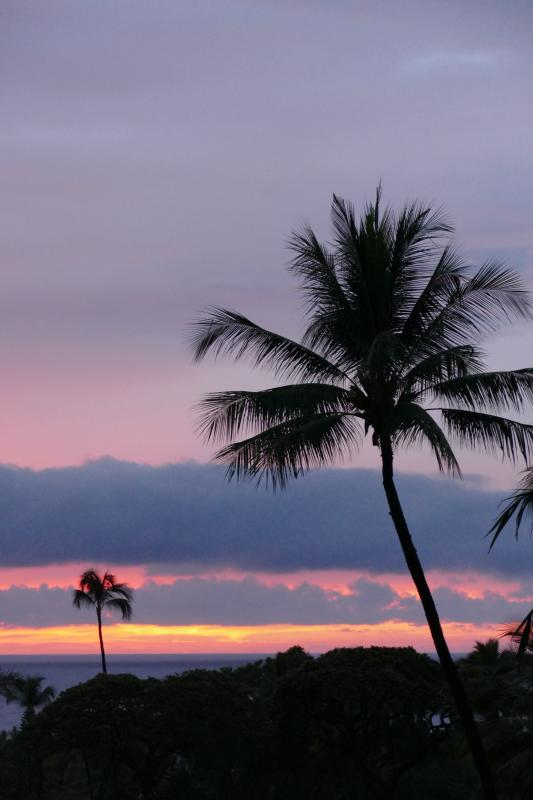 Kona sunsets are different every night