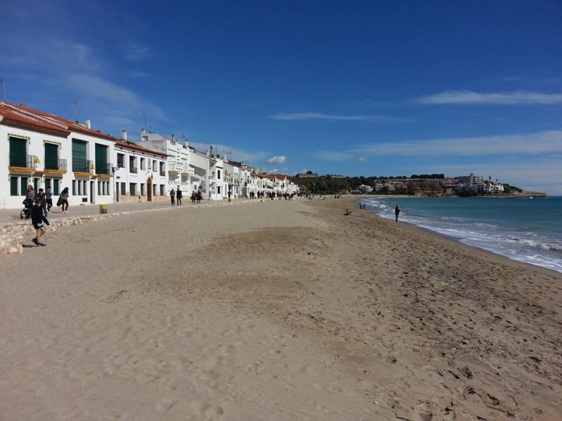 Playa de Altafulla.