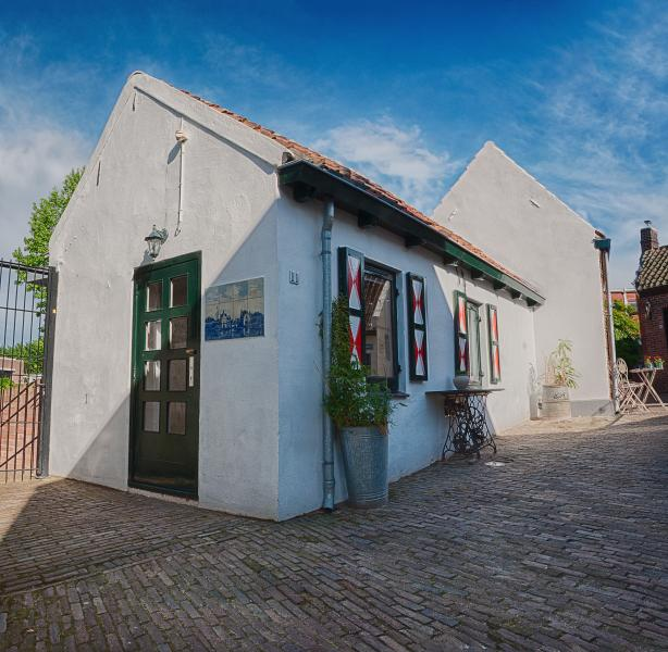 Anno 1789 oldest and smallest house Terneuzen