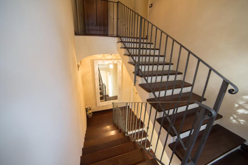 Stairway to Upstairs Bedrooms