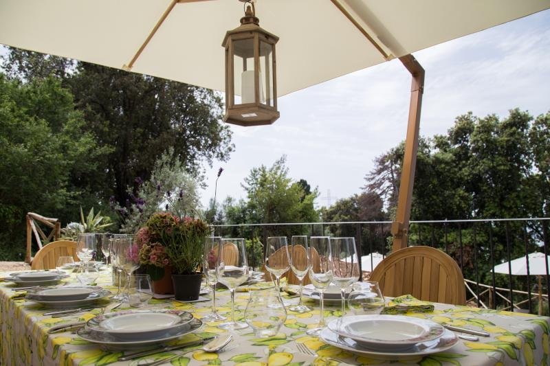 Outside Dining Seating for 8 or more