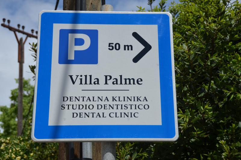 Villa Palme, Free Parking