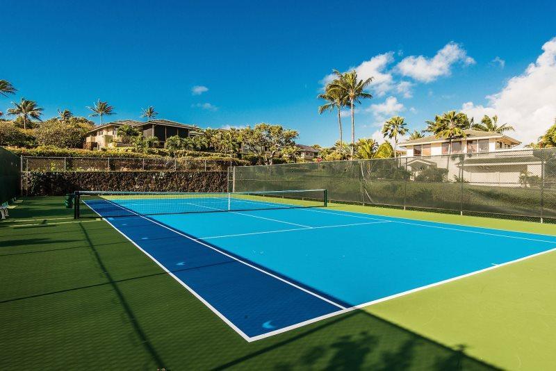 Poipu Sands Tennis Court.