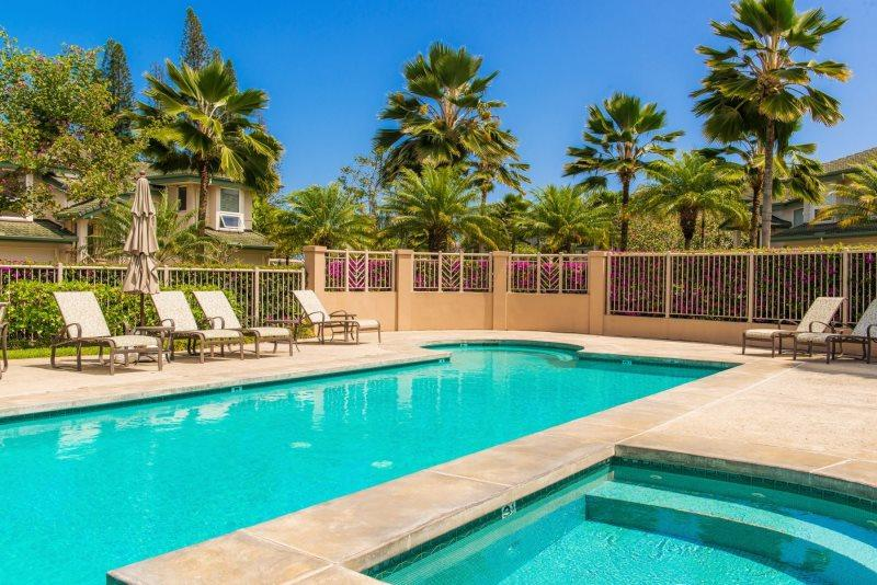 Escape to this 3-bedroom, 3-bath vacation rental townhouse in Kauai!
