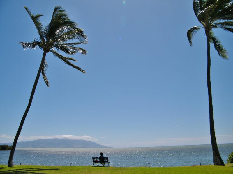 Ocean View of Island of Lanai