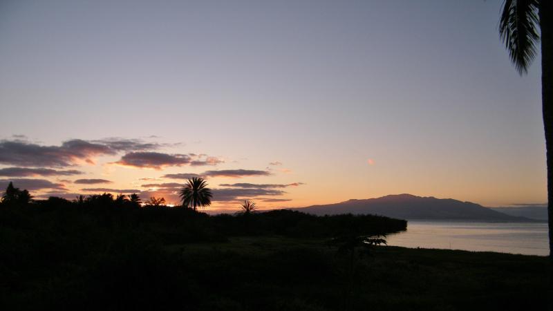 Sunrise over Maui