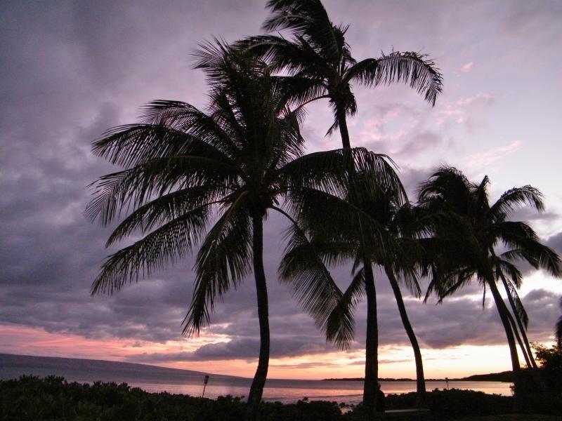 Sunrise on Molokai (Maui in the Background)