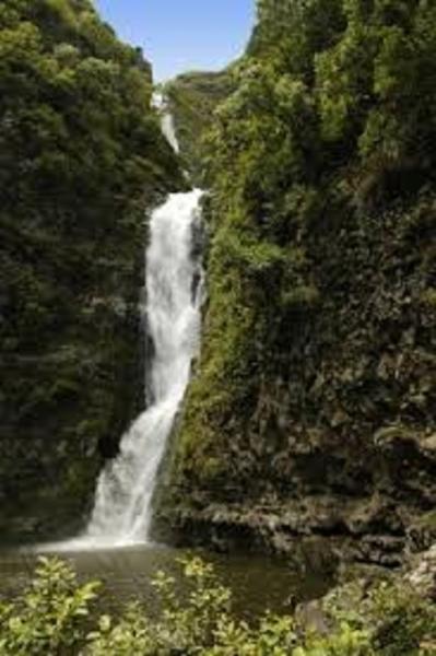 Hiking to Halawa Valley  Falls