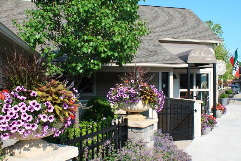 Top notch restaurants and wineries in nearby towns of Lake Leelanau and Leland