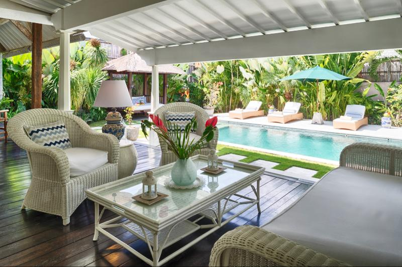 Large verandah for relaxing during the day