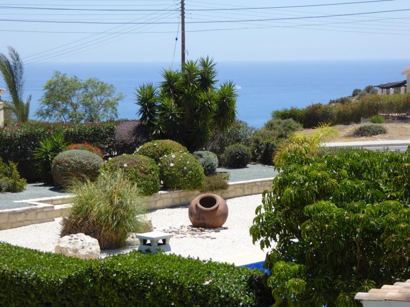 Fabulous sea views from the villa
