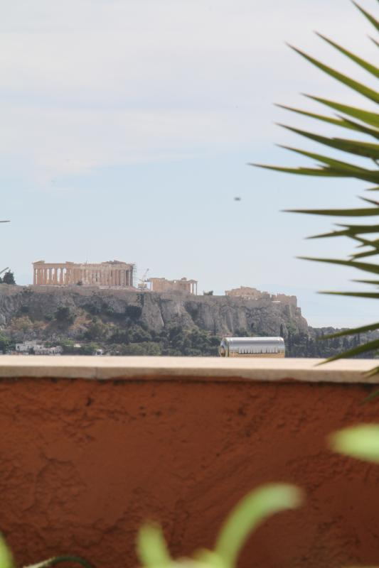 View of Acropolis from the balcony