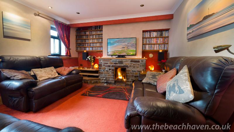 The lounge at The Beach Haven