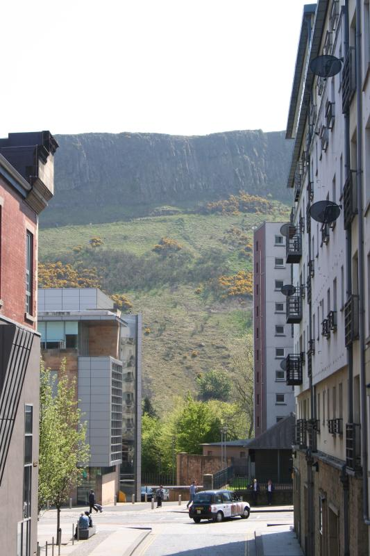Salisbury Crags and Arthur's Seat - 5 minutes away
