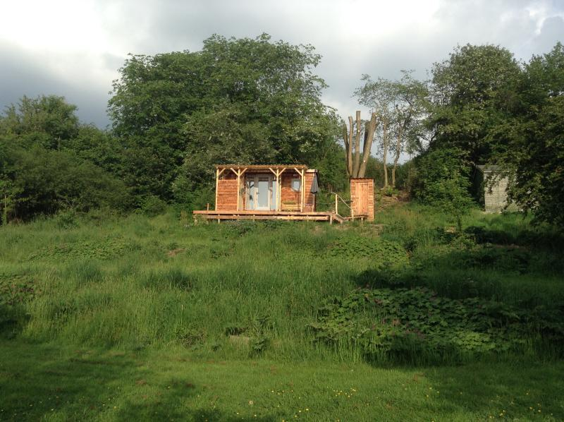 Glorious hand made shepherd's hut with luxurious touches to make your stay perfectly peaceful.