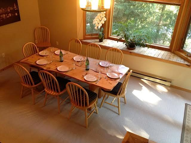 Spacious Dining Room for Meals and Games