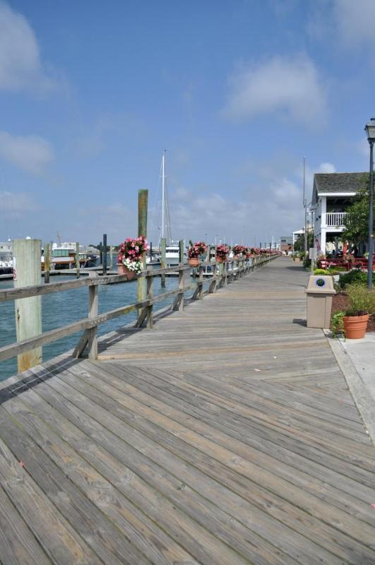 Boardwalk looking west