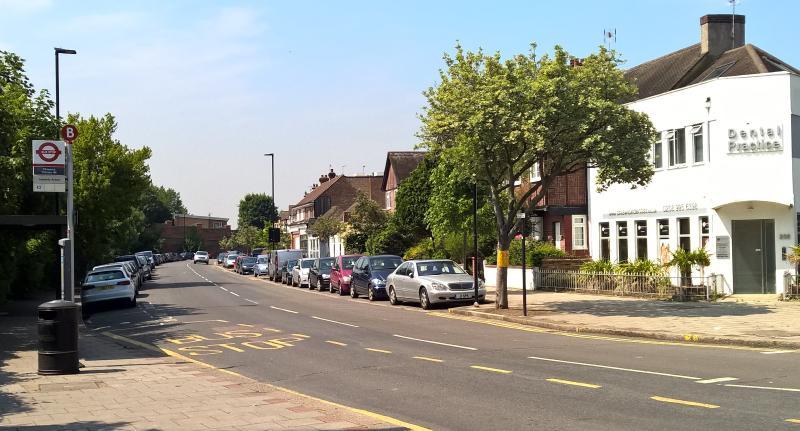 Safe upmarket neighbourhood View of Sutton Court Road
