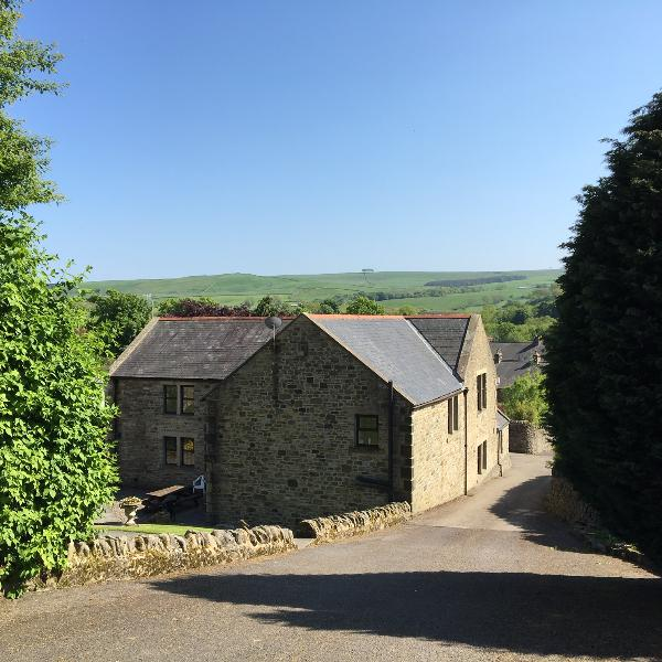 The Old School - a large detached cottage with amazing views of the surrounding North Pennine hills