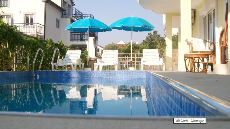 Swimming Pool - Villa Marko - Herceg Novi - Baosici, holiday rental in Herceg-Novi Municipality