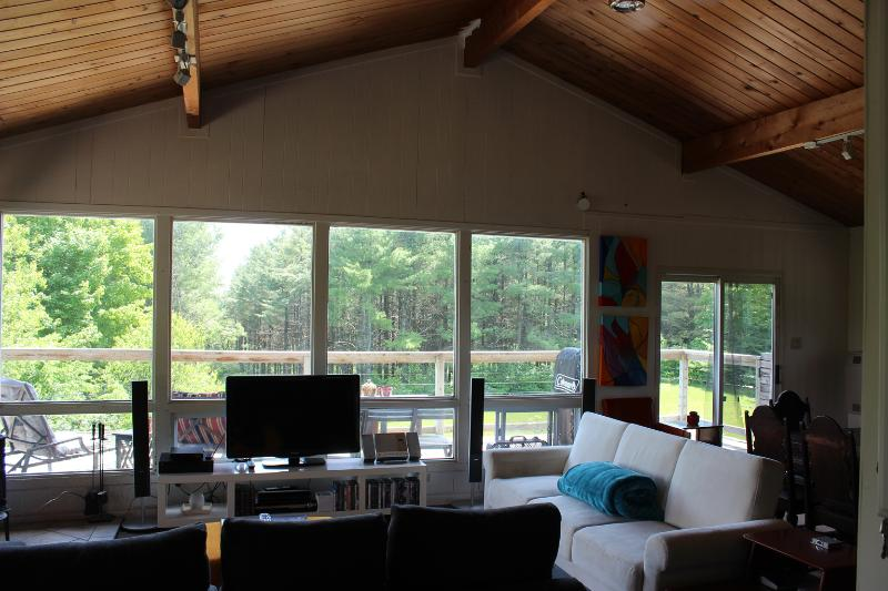 Chalet-style Cabin w/Hot Tub - ReLive Retreat, holiday rental in Markdale