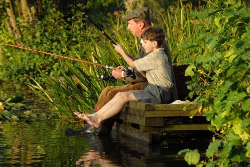 Fishing near by.