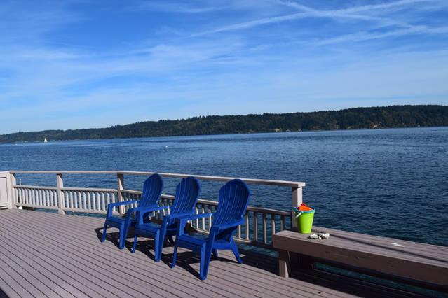 Your very own private deck!