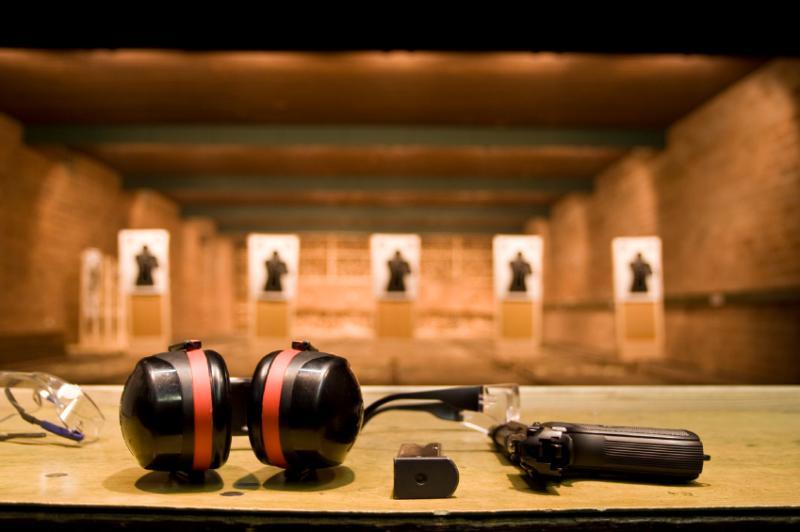 Shooting range 20 min away