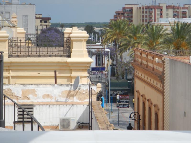 Vista a la playa y Parque Nacional de Doñana desde la terraza
